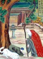김교각스님 일대기 그림벽화
