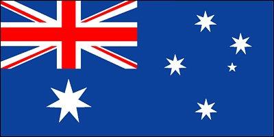[공유] 호주국기와 호주지도