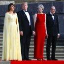 트럼프, 김정은 친서 전격공개, 영국 첫방문