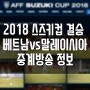 스즈키컵 결승 베트남 말레이시아 축구 중계방송
