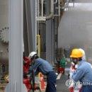 염소가스 누출 사고 발생한 울산 한화케미칼 공장 밖으로 강풍에 부상자 속출