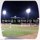 대전야구장 한화이글스 경기 직관후기