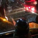 일산 가좌동 화재현장에서