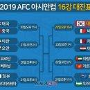 아시안컵 16강 대진표 한국 바레인 역대전적 피파랭킹