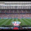 러시아 월드컵 개막전 러시아 대 사우디아라비아 경기 관전