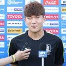 '김민재 선제골' 한국, 키르기스스탄에 전반 1-0 리드...2% 아쉬운 경기력