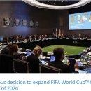월드컵 본선 48개국 확대,과연 옳은 선택인가?