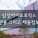 삼성바이오로직스 연봉 그리고 채용정보