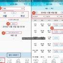 KTX 할인 혜택 싸게타는법, 코레일 열차표 예매 방법
