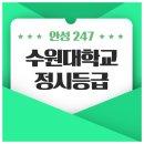 2018 수원대학교 정시등급 안내