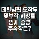 데릴남편 오작두 몇부작 시청률 언제 종영?
