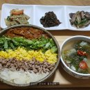 한 그릇 밥, 색 고은 소보로 덮밥