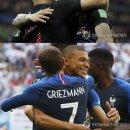 프랑스-크로아티아 2018 러시아 월드컵 결승전...피파랭킹·상대전적·일정·중계는?