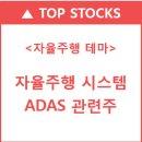 구글,애플 자율주행 본격화, ADAS 관련주