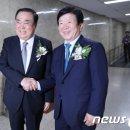 민주당, 20대 국회 하반기 의장 후보에 문희상 선출(상보)
