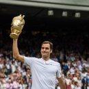 테니스 황제 로저 페더러 와 2018 윔블던 테니스