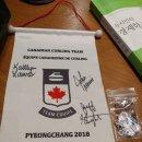 강릉es 요가 캐나다 컬링 금메달 선수와 요가하고 사진찍고선물 주고 받고 행복합니다