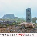 2018.06.11. 새벽 이슬비 가르며 걸어 본 태백산