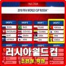 2018 러시아 월드컵 조편성 확정 한국은 죽음의조