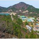 댐을 이용한 친수공간인 부안다목적댐 가족공원