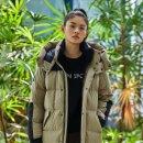 동물의 사생활 문근영 패션 옷 헤스티아 롱패딩, 세이신 운동화 #코오롱스포츠