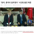 한국은 중국의 속국이었다.(시진핑과 트럼프의 대화에서)