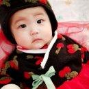 설날맞이 아기한복입은 김다현어린이♡