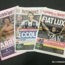 호날두 유벤투스 이적 기념 이탈리아 신문 투토, 코리에레, 가제타 리뷰 1부