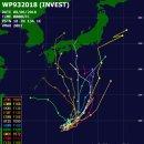 2018년 14호 태풍 야기 발생 예상과 경로, 태풍 산산은 일본 도쿄로 북상