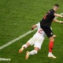 '만주키치 결승골' 크로아티아, 연장 끝 잉글랜드에 2-1 역전승