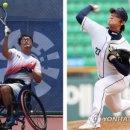 전 두산 투수 김명제, 장애인 AG 휠체어테니스 은메달