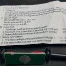 LED조광기/Dimmer/DC조광기/터치조광기/DC12~24V (스탠드기구설계목업에 사용했던...