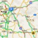 서울춘천고속도로 교통상황 음청막혀 버리네요~잘빠져 나가는법?