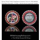 [공지] 백악관 북미정상회담 기념주화 구매 후기, 할인코드 White House Gift Shop