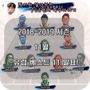[ESM] 13개의 유럽 스포츠 언론 선정 11월 유럽 베스트 11팀 발표 ! ( 11월 최고의...