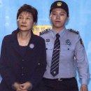박근혜 재판 생중계 진행, 징역 8년 선고