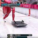 평창 동계올림픽 '스켈레톤' 세계랭킹 1위 윤성빈. 2차 시기 스타트·트랙레코드!!