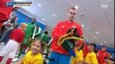 [월드컵 개막식] 개막전 출격! 입장하는 양팀 선수들 SBS 2018 FIFA 러시아 월드컵 44회