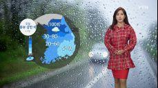 [오늘날씨] 수도권·영서 강한 장대비..천둥·번개 동반