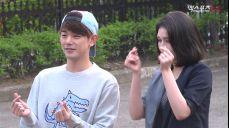 전소미, 에릭남과 깜짝 포옹…뮤직뱅크 출근길 멀티캠 촬영(jeon somi,eric nam)