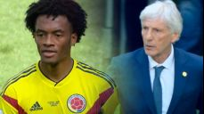 [콜롬비아 VS 일본] 이른 시간 교체 아웃되는 콰드라도 SBS 2018 FIFA 러시아 월드컵 57회