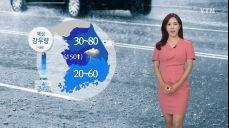 [날씨] 출근길 중부 장대비..대전·청주 호우경보