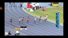 2018 대만오픈육상경기선수권대회 파주시청 김태효 선수 100m