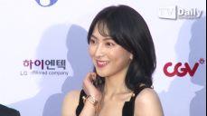 [TD영상] 낸시랭-강지영-레이 '레드카펫 위 파격적인 노출 드레스'
