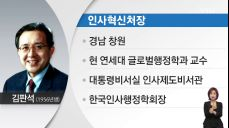 국무1차장 최병환, 국무2차장 노형욱..차관급 인사 단행