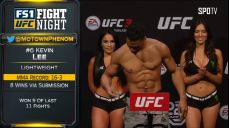 [UFC] UFN 128 계체 하이라이트
