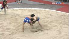 초등부 개인전 결승 경장급 - 강우주(후평초) VS 박찬호(신어초).