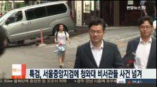 허익범 특검, 서울중앙지검에 송인배·백원우사건 넘겨