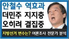 [안철수 역효과] 더불어민주당 지지층 결집 - 지방선거 변수? 여론조사 전문가 분석