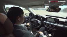 기아차 신형 K9 이 차 '자율주행' 실화임? LFA, 멈추지 않고 10여분간 스스로 핸들 돌려